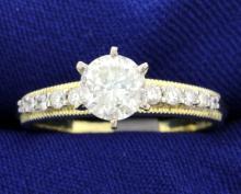 1.04 carat diamond ring