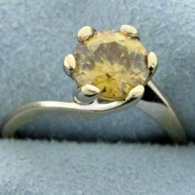 Honey Topaz ring