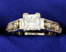 1.03 Certified Diamond Ring
