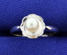 Cultured 5.25 Pearl Ring