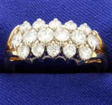 2.2 ct. Total Weight Diamond Ring