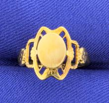 VINTAGE Ladies Signet Ring