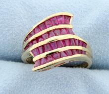 2 carat Ruby Ring