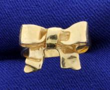 Bow Fashioned Ring