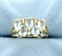 Sky Blue Topaz 10k Yellow Gold Ring