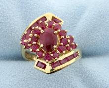 Ruby 14k Yellow Gold Ring