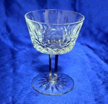 1 WATERFORDcrystalstemware LISMORE pattern Sherbet Fruit Cup stemware