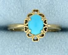 Vintage Persian Turquoise ring
