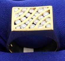 1 carat Men's Diamond Ring