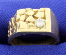 Nugget Style Ring