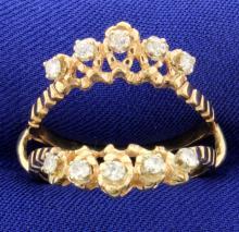 Vintage Diamond Ring Jacket