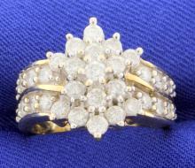 1 1/2 carat diamond ring