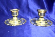 Vintage sterling Candle sticks