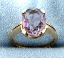 4ct Amethyst Ring
