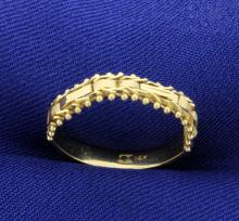 Flexible Ring in 14K Yellow Gold