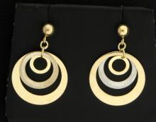 14K Dangle Earrings