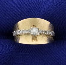 Antique .3 ct TW Diamond Ring