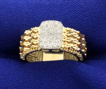 1/3ct Total Weight Diamond Ring