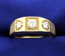 .60ct TW Men's Diamond Ring