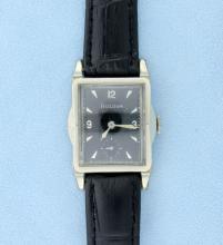 Rare Vintage L3 Bulova Circa 1950s Deco Style Mens or Ladies Watch