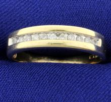 1/3ct Total Weight Diamond Band