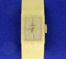14K Gold Woman's Omega Watch