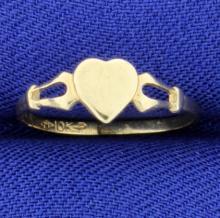 Heart Baby Ring