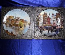7 Louis Dali Frech Vintage Collector Plates