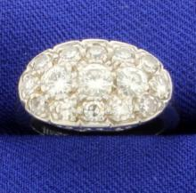 1.7ct Total Weight Diamond Ring