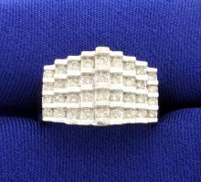 1 Carat Diamond 10k Yellow Gold Ring
