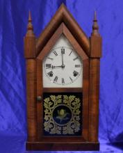 Antique Waterbury Steeple Mantel clock