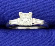 Platinum Diamond Ring
