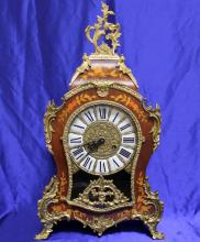 Vintage Boulle Mantle Clock