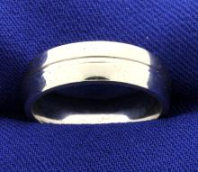 6mm comfort band Ring