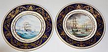 Stefan Damian Nowacki - a pair of circular plates,
