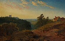 Edward H. Niemann - Near Knaresborough, with cotta