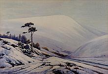 H.Hughes Richardson - Winter in the Lorna Doone Va