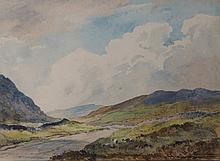Percy Lancaster - Kirkstone Pass, watercolour and