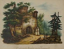 Continental School, late 19th Century - Chateau De