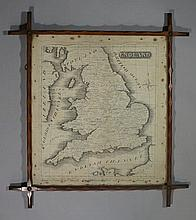 A map of England by James Bradley, aged 11 years,