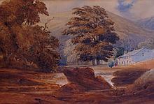 English School, late 19th Century - a pair, an eve