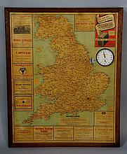 Advertising - Coventry, a distance chart, Patent N