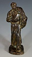 Aime Joules Dalou (1838- 1902) - a French bronze f