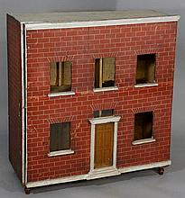 A Georgian style ''Red Brick'' doll's house the fr