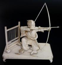 A fine Japanese ivory figure