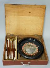 Jacques - a portable ebonised roulette wheel