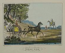 C. Vernet (by and after) - a set of five reproduction prints: Going Hunting