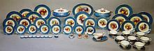 A specially commissioned dinner service for eight Dursley Fine Porcelain, h