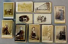 A quantity of Victorian and Edwardian photographs, the majority studio port