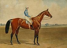 A 19th Century coloured lithograph - Deception, Winner of The Oaks Stakes at Epsom 1839, image 31cm x 42cm, framed